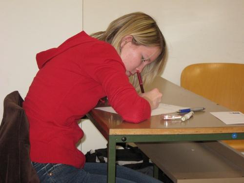 Državno tekmovanje v znanju ruskega jezika na FF v Ljubljani (12. april 2008), foto: Simon Feštanj