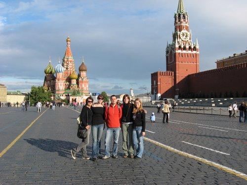 12. mednarodna olimpijada ruskega jezika v Moskvi (junij 2008), foto: Simon Feštanj