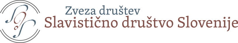 Zveza društev Slavistično društvo Slovenije